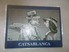 "Tin Decorative Sign ""Catsablanca"" The Cat Hall Of Fame1996 Feline,Inc"