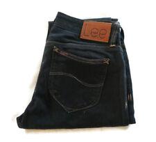 LEE Womens Supa Skinny Lo Jeans Pants Black Stitching Size 10