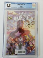 Captain America 22 - CGC 9.8 - Alex Ross 75 Years Variant - 1 in 75 Cover