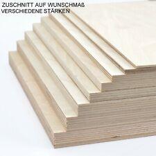 Sperrholz Birke Furnier Multiplex Zuschnitt Platte Holz Regalboden Basteln