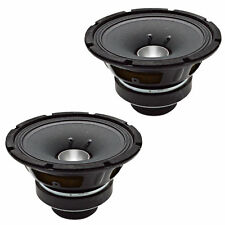 SEISMIC AUDIO - Pair of 8 Inch Coaxial Speakers 200 Watts PRO Audio 8 ohm New