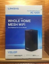 Linksys Velop Dual Band AC1200 Mesh WiFi System Expandable! Router Replacement