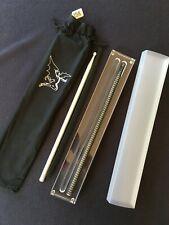 BLACK SABBATH Collectors Polished Aluminum Drum Sticks Set Rare Numbered