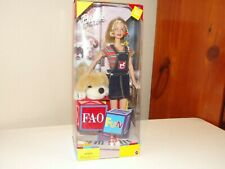 1999 Mattel FAO Schwarz Barbie & Patrick The Pup #24943 NRFB