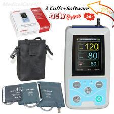 24 hours ambulatory blood pressure monitor  automatic sphygmomanometer+3 cuffs