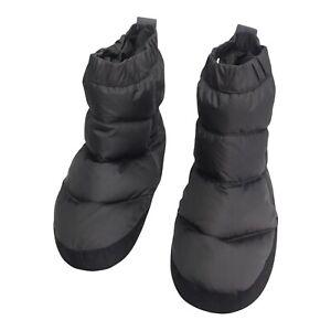 Eddie Bauer EB700 Goose Down Camping Booties Slippers Men's Size Medium 8-9