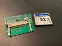 Apple Macintosh IDE Hard Drive Mac0S 7.6.1, Power Mac 32 GB 40-pin APPS GAMES
