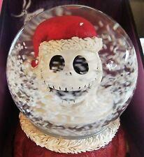 Disney Nightmare Before Christmas Jack 25 Year Musical Snomotion Waterglobe