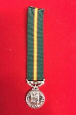 "Ulster Defence Regiment UDR Miniature Medal With 6"" Ribbon"