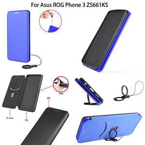 For Asus ROG Phone 3 ZS661KS Magnetic Buckle Phone Case Protective Shell Cover