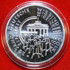 """Deutschland 25 Euro 2015-J 999 Silber ST-BU #F4665 """"25 Jahre Deutsche Einheit"""""""