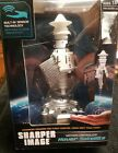 NEW - Sharper Image -Hand Motion Controlled Hover Satellite Space Toy