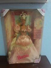 NRFB 1997 Rapunzel Barbie Doll blond. Excellent New Condition #17646