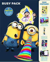 Despicable Me Busy Pack Childrens Activity Stickers Stocking Filler Gift