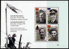 1995 Remembers Minisheet ANZAC Stamps Mint Australia