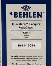 New Guitar Parts Behlen Qualalacq Lacquer - Gloss (Nitro) QT