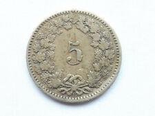 L4195     SCHWEIZ 5 Rappen 1876