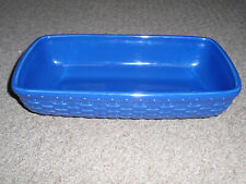 Longaberger Woven Reflections Server in Cornflower. New Other!
