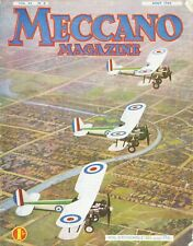 Meccano Magazine, Edition French, N°8 August 1934, Bel Condition