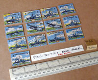 """13 Vintage Gibson Wargame Spare Parts """"Tri-Tactics"""" 1940s/50s Period. (370)"""