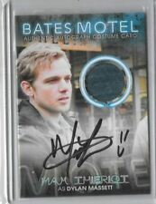 Bates Motel MAX THIERIOT  Autograph and Memorabilia Trading Card