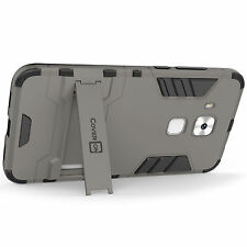 Plain Fitted Cases/Skins with Kickstand for Huawei Mobile Phones