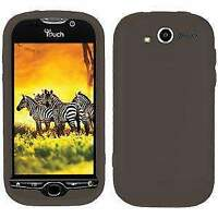 AMZER Silicone Soft Skin Jelly Fit Case Cover for HTC myTouch 4G - Grey