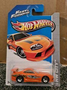 Hot Wheels Toyota Supra Fast & Furious