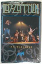 Led Zeppelin 2020 Photo Calendar 1992 Calendar reusable in the year 2020 Sealed