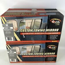 CIPA 11302 & 11301 Toyota Tundra Custom Passenger Side Towing Mirror 2007-2010