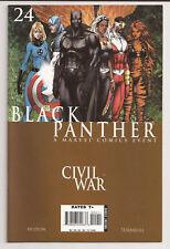 Black Panther #24 (2007) VF/NM Civil War Turner