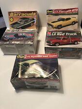 Revel/Ertl Barracuda, GTX, Dodge, Richard Petty, Model Car Lot