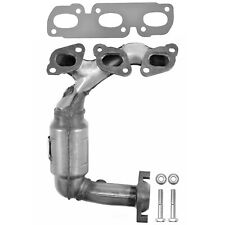 Exhaust Manifold with Integrated Catalytic Converter-Direct Fit Front Left 30488