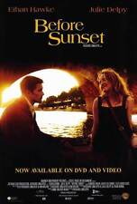 Before Sunset Movie Poster 27x40 B Ethan Hawke Julie Delpy Vernon Dobtcheff
