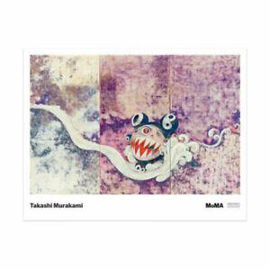 Takashi Murakami 727 Poster Limited Edition Large MoMa Print Artwork. OBEY KAWS.