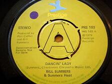 "BILL SUMMERS - DANCIN' LADY  7"" VINYL"