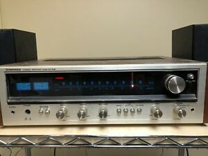 VINTAGE PIONEER SC-535 STEREO TUNER RECEIVER GREAT CONDITION WORKS