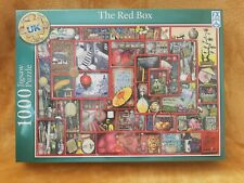 FX Schmid Deluxe Quality  THE RED BOX 1000 Piece Jigsaw Puzzle - NEW & SEALED