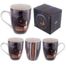 Gothic/Pagan/New AGe Bone China Mug - Lisa Parker Wolf Song  BOXED.10cmx12cmx8cm