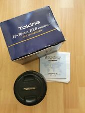 Tokina AT-X 11-20mm f/2.8 PRO DX Wide Zoom Lens for Nikon F *Mint Condition*