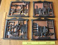Coppercraft Guild Vintage Trade Wall Art Printer Carpenter Coppersmith shoemaker