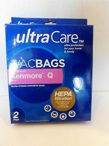 Ultra Care VacBags Vacuum Bag NEW! Electrolux Eureka Kenmore Hoover Dirt Devil