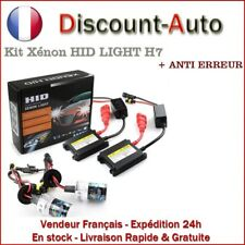 KIT XENON HID H7 LED 55W 6000K SLIM BALLAST AMPOULES + ANTI ERREUR - VOLKSWAGEN