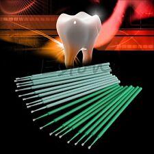 100PCS Dental Micro Brush Disposable Dental Materials Tooth Applicators Medium