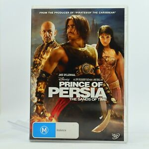 Prince of Persia Sands of Time Jake Gyllenhaal DVD Good Condition