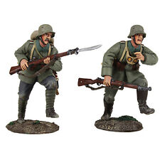"William Britains WWI ""attacco"" German Infantry Assault Team 23097 Nuovo Inscatolato"