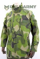 Original Swedish Army M90 Jacket Splinter Camouflage Field Combat Military Camo