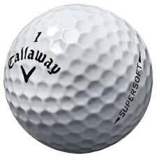 120 Callaway Supersoft AAA+ Used Golf Balls