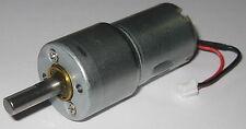 500 Rpm Hobby Project 12 V Dc Gearhead Motor High Torque 6mm D Type Shaft
