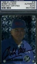 Bobby Allison Signed Psa/dna 1996 Nascar Autograph Authentic